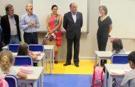 presidente da câmara visitou centro escolar de ...