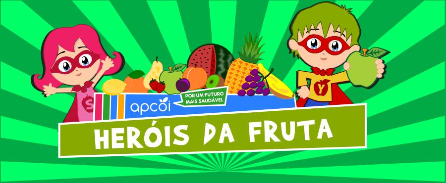 """Projeto """"Heróis da Fruta"""" quer chegar a todas as escolas do Município"""