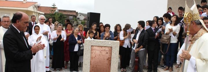 Presidente do Município de Barcelos e Arcebispo Primaz de Braga inauguraram nova Igreja de S. Pedro