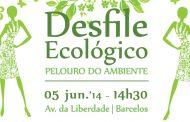 desfile ecológico no museu de olaria