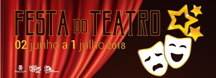 Festa do Teatro com onze espetáculos de grupos de Barcelos