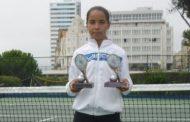 jovem tenista joana ferreira próxima da lideran...
