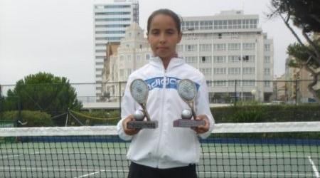 Jovem tenista Joana Ferreira próxima da liderança do ranking nacional de sub-14