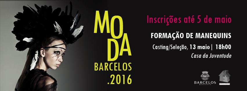 Abertas inscrições para Moda Barcelos 2016