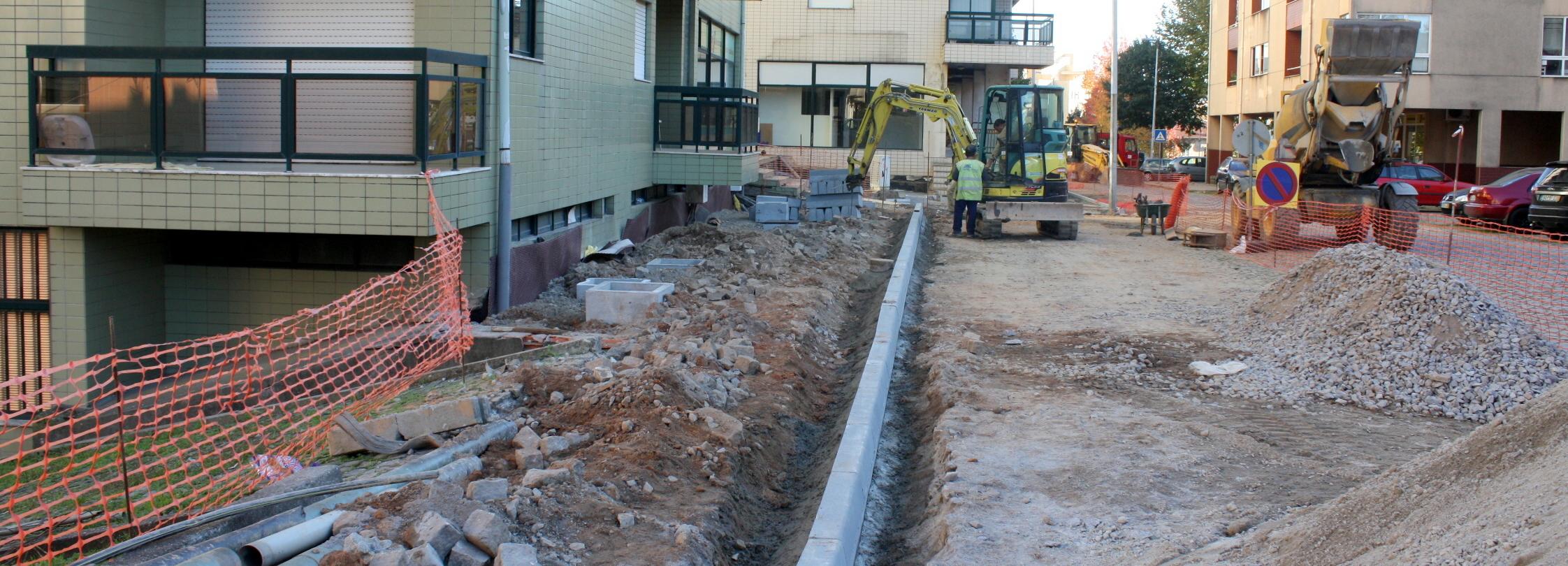 Câmara Municipal requalifica redes e pavimento junto ao Edifício Panorâmico