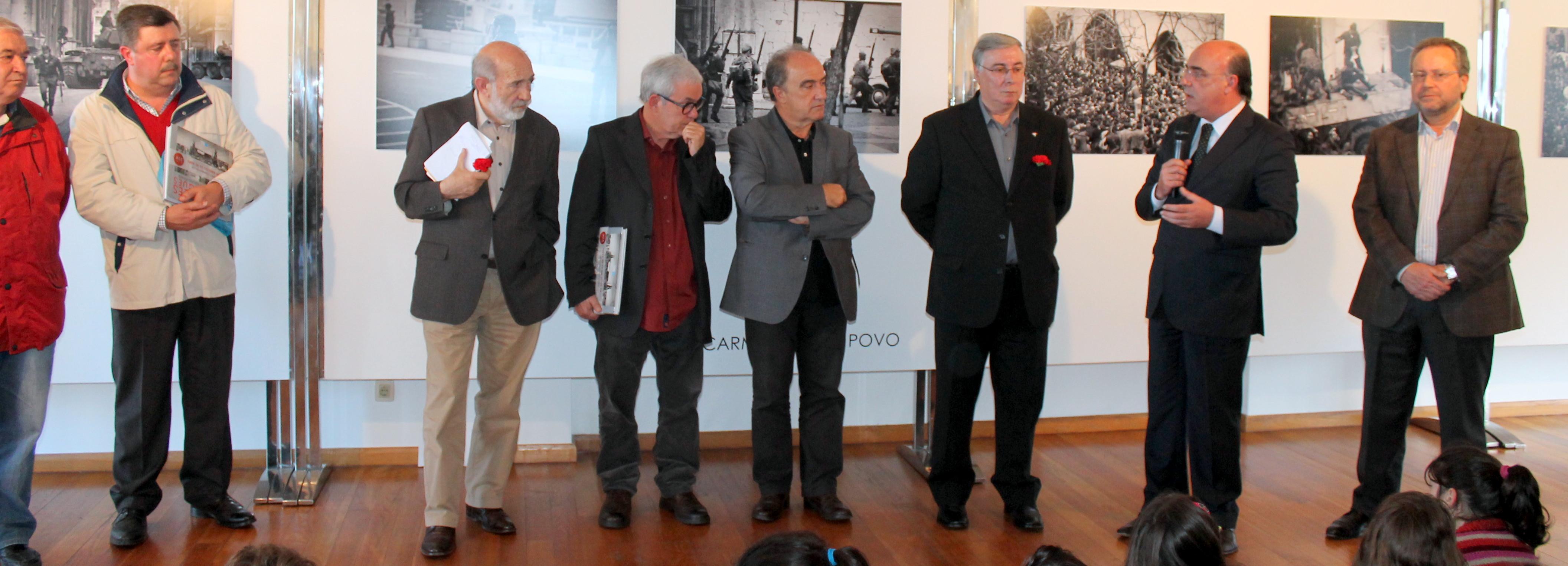 """Exposição """"Os Rapazes dos Tanques"""" inaugurada na Galeria Municipal de Arte"""
