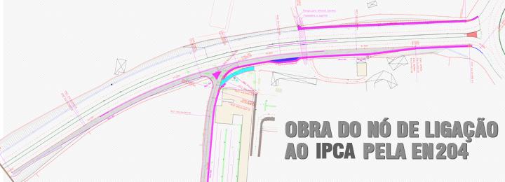 Obra do nó de ligação do IPCA à circular rodoviária vai avançar