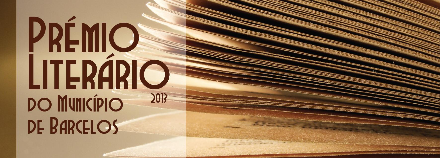 Câmara Municipal lança Prémio Literário 2013