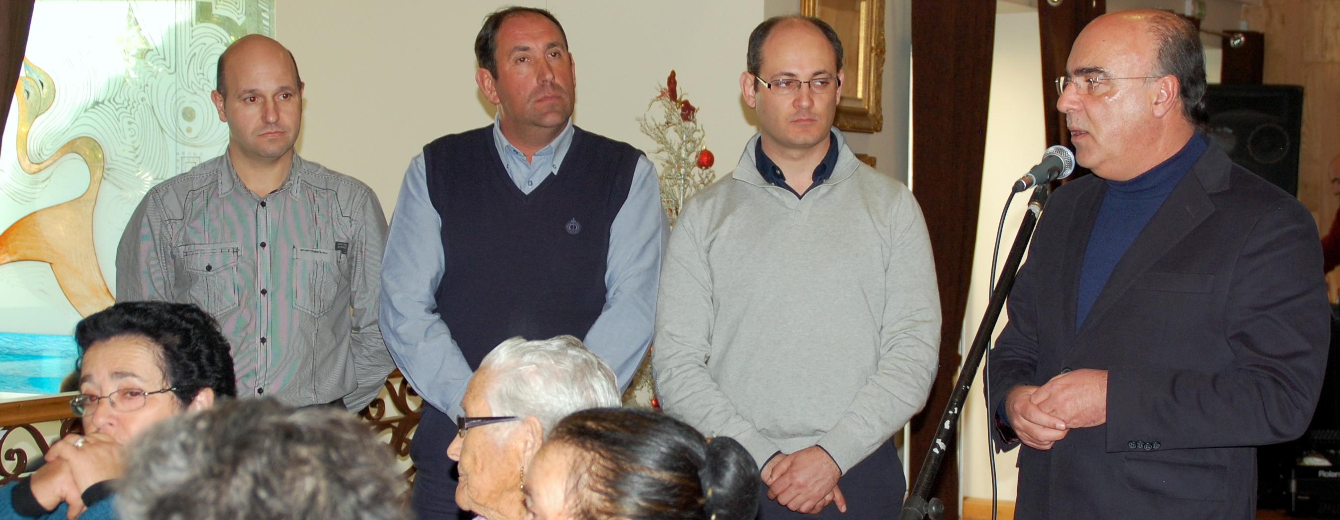 Presidente da Câmara deixa mensagem de solidariedade em encontros de Natal