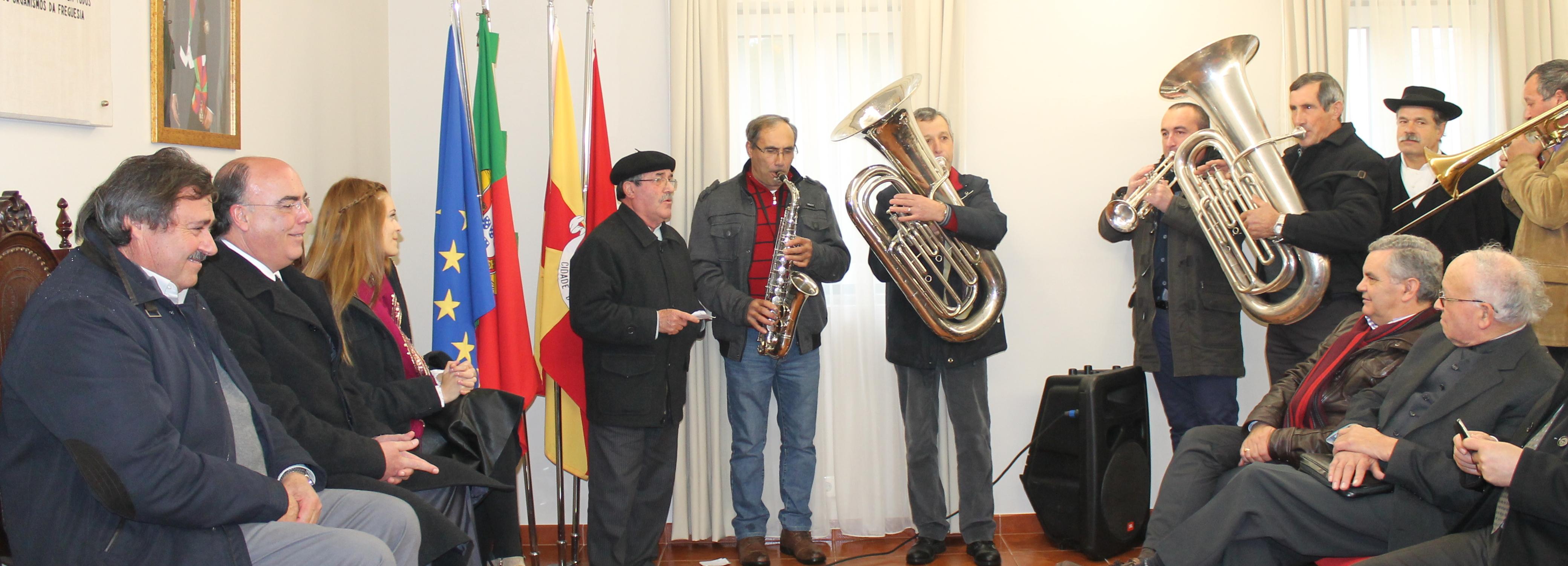 Presidente da Câmara inaugurou as obras de requalificação da Sede da União Freguesia de Durrães