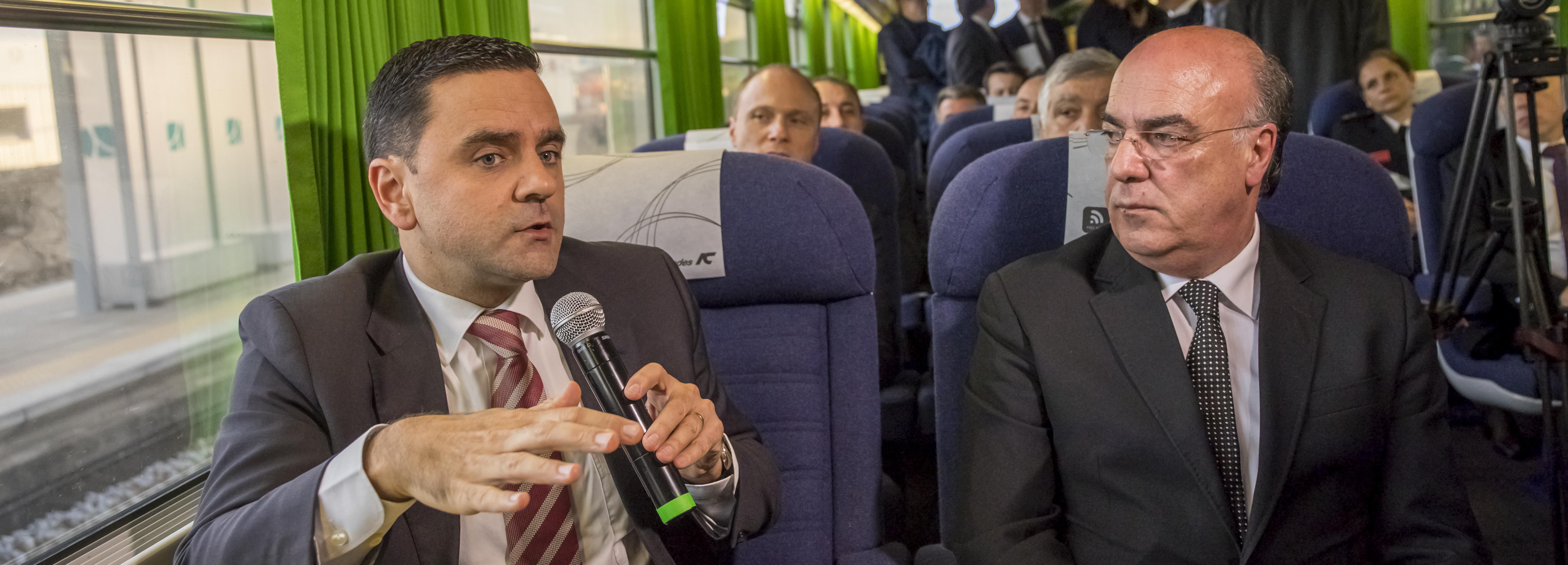 Ministro do Planeamento e Infraestruturas anuncia paragem do intercidades em Barcelos