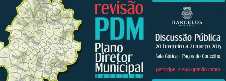 Discussão pública do PDM decorre entre 20 de fevereiro e 21 de março