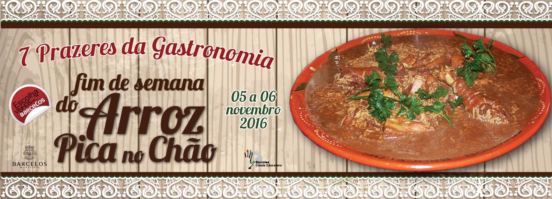 Arroz Pica no Chão à mesa dos restaurantes de Barcelos