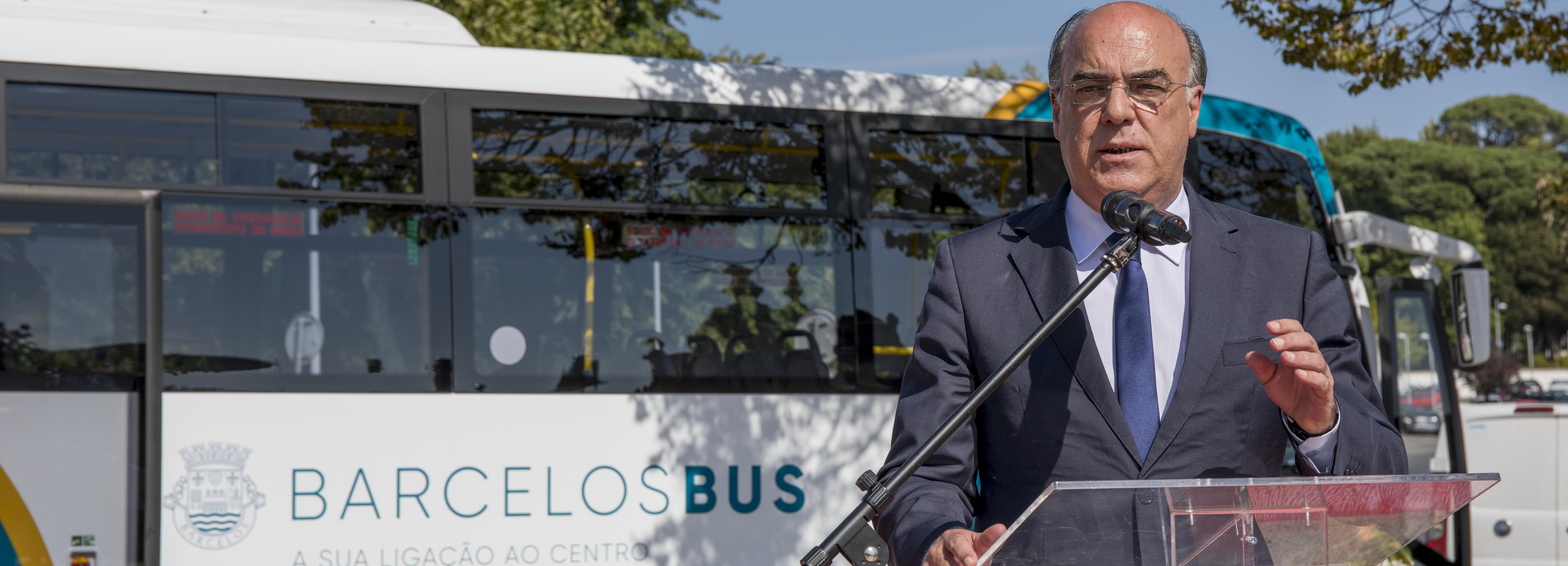 Presidente da Câmara inaugurou rede de transportes urbanos
