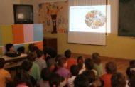 palestra sobre higiene e saúde alimentar na eb1...