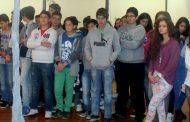 alunos do concelho visitam exposição de joão cu...