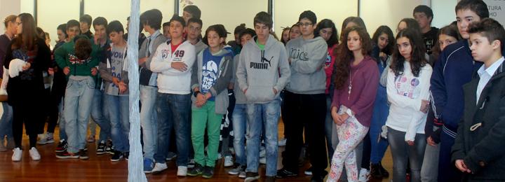 Alunos do concelho visitam exposição de João Cutileiro