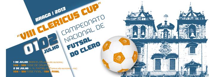 Campeonato Nacional de Futsal do Clero arranca no Pavilhão Municipal de Barcelos