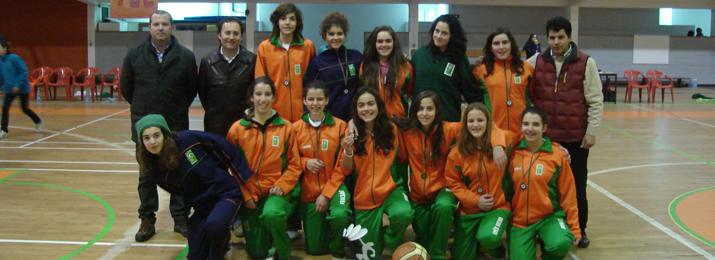 Equipa de Sub14 femininos do BCB é campeã distrital