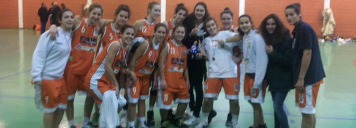 Equipa de Sub 19 femininos do Basquete Clube de Barcelos é campeã distrital