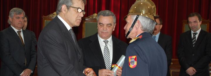 Aniversário dos Bombeiros de Barcelos com recepção na Câmara Municipal