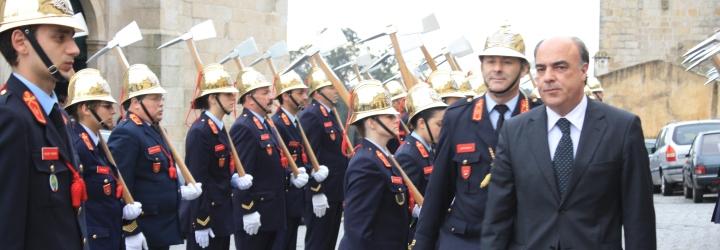 Bombeiros de Viatodos completam 27 anos e apresentam cumprimentos ao Presidente do Município de Barcelos