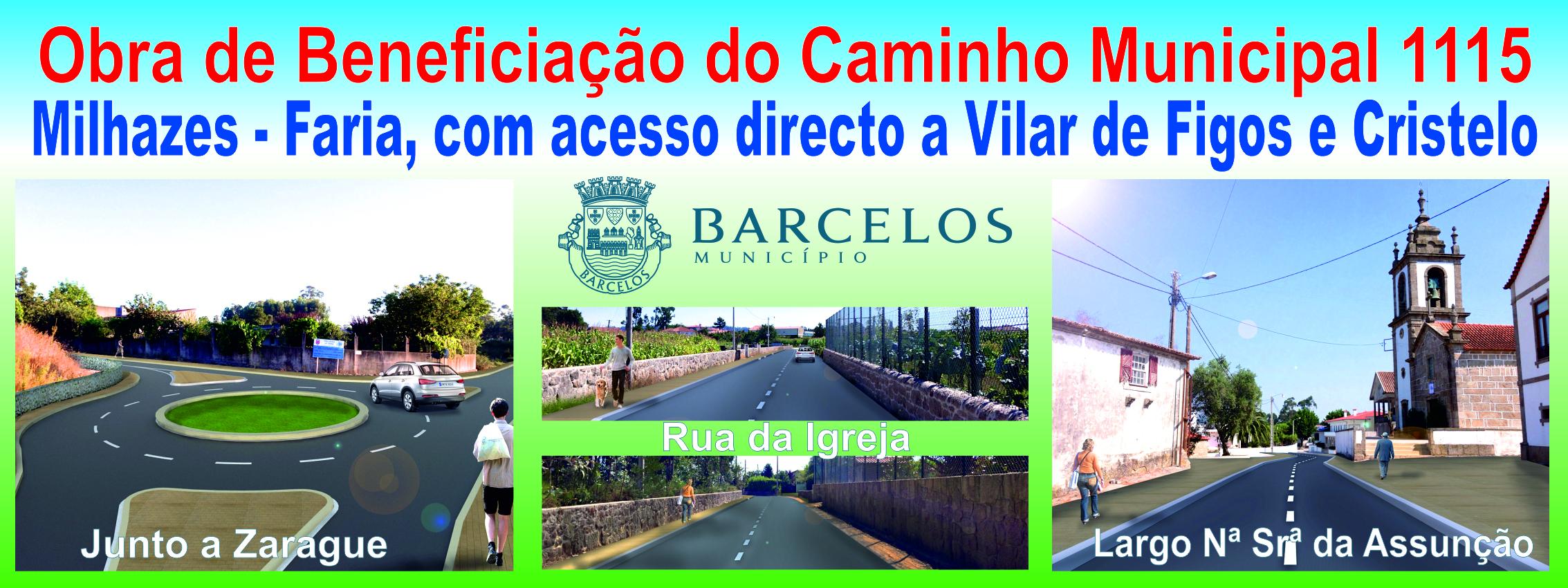 Caminho municipal entre Milhazes e Faria vai ser pavimentado