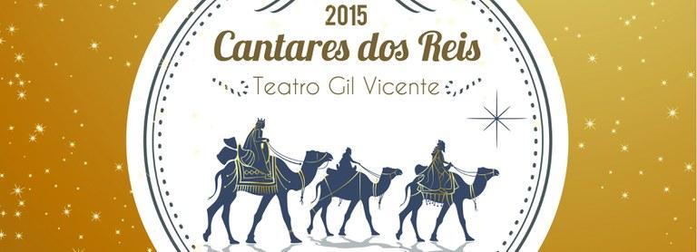 Cantares dos Reis no Teatro Gil Vicente durante o mês de janeiro