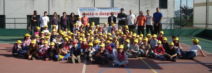 Basquete Clube de Barcelos fez demonstração na EB1 de Carapeços