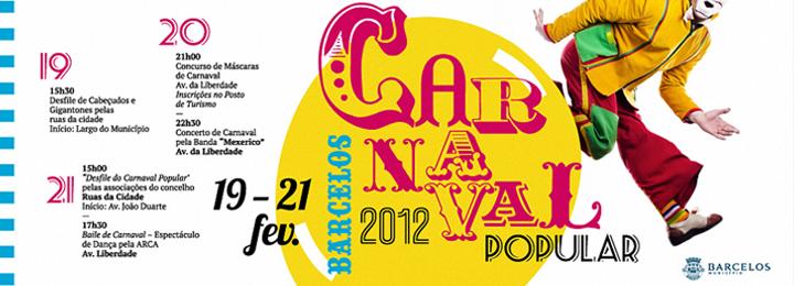 Carnaval em Barcelos arranca domingo e tem ponto alto com desfile na terça-feira
