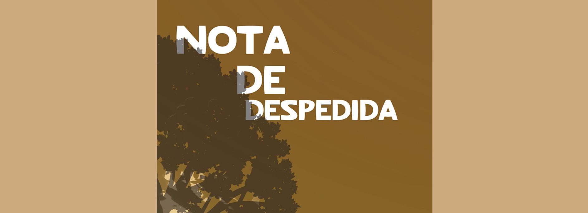 """""""Nota de Despedida"""" é o primeiro romance de Dany Cruz"""
