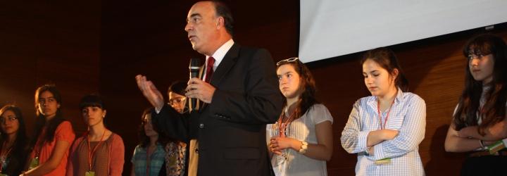 Auditório da Câmara Municipal encheu para apurar concorrentes do distrito de Braga ao Concurso Nacional de Leitura