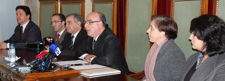 Conferência de imprensa da Câmara Municipal de Barcelos