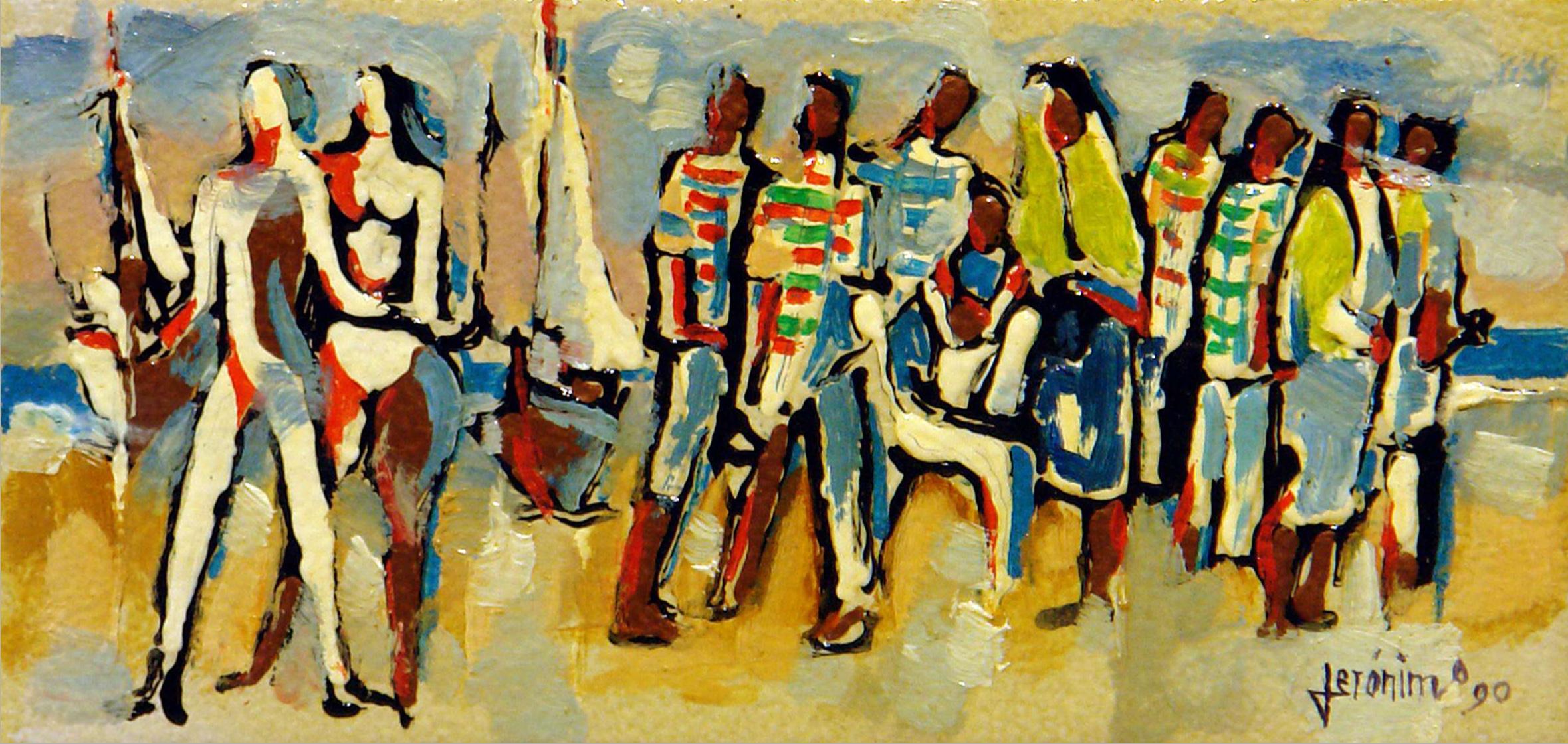 Cinco décadas de arte de Jerónimo em exposição em Barcelos