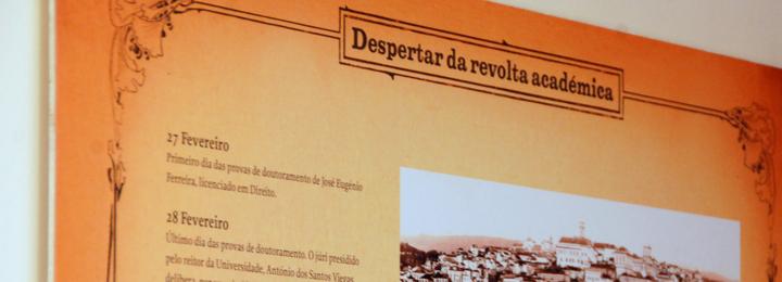 """Exposição """"Revolta Académica de 1907"""" na Biblioteca Municipal de Barcelos"""