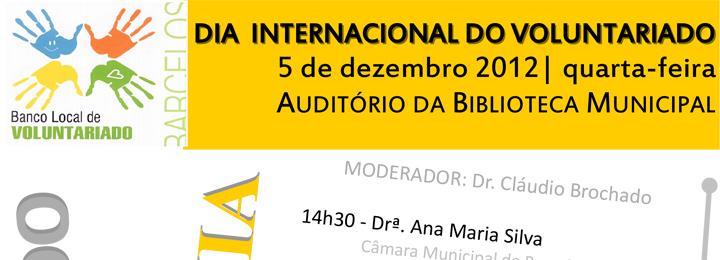 Dia Internacional do Voluntariado comemorado em Barcelos