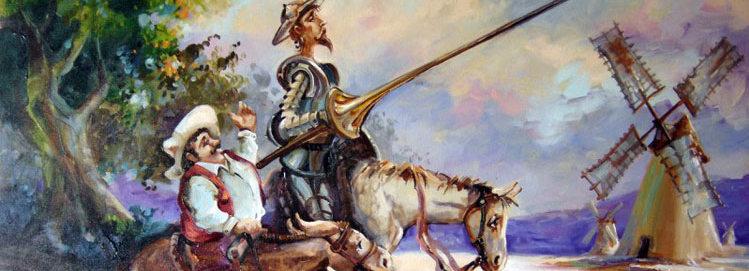 Dom Quixote de la Mancha visita Barcelos