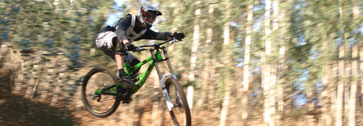 """Downhill para todos"" no Monte do Facho"