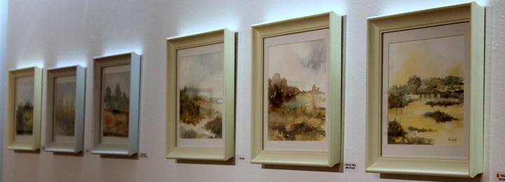 Exposição de pintura de Irmã Gabriela na Galeria Municipal de Arte de Barcelos