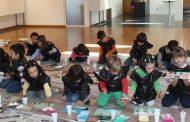 alunos do jardim-de-infância joão duarte visita...