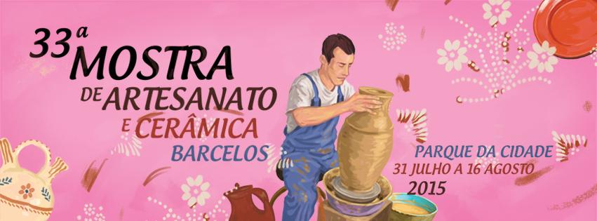Os Mestres mais conceituados reúnem-se na 33.ª Mostra de Artesanato e Cerâmica de Barcelos