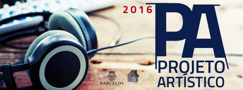 Inscrições abertas para o Projeto Artístico 2016