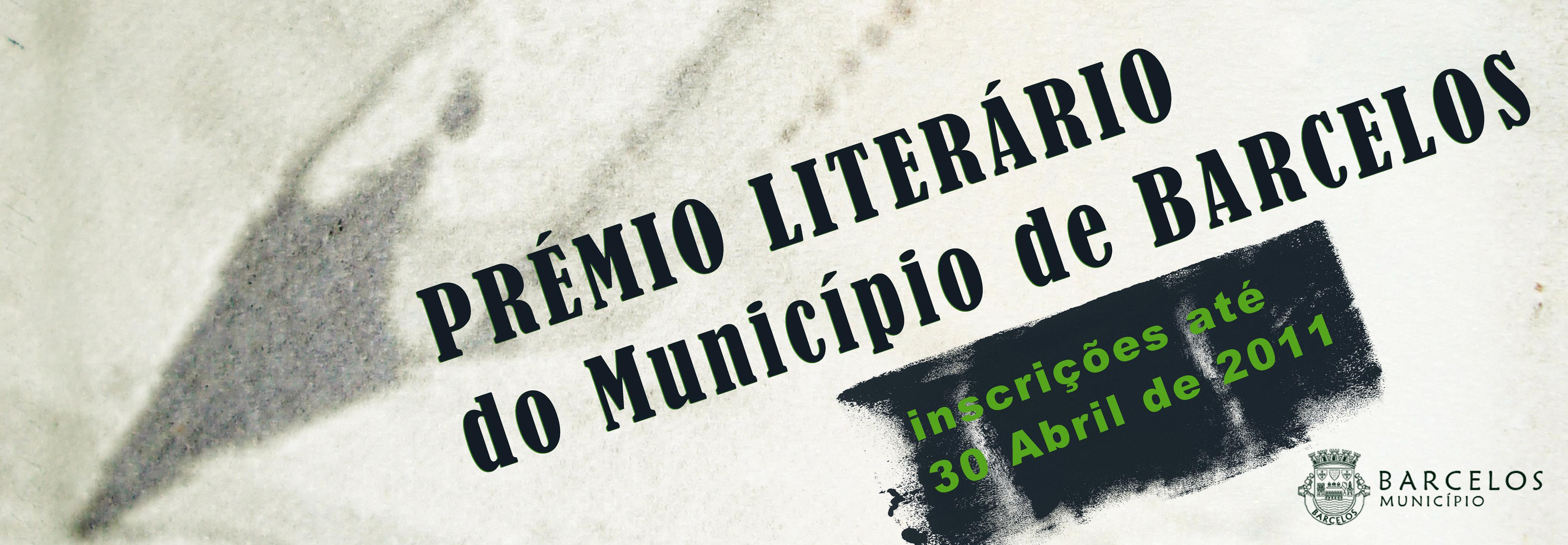 Abertas as inscrições para o Prémio Literário do Município de Barcelos