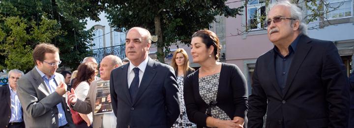Miguel Costa Gomes inaugurou Feira do Livro de Barcelos