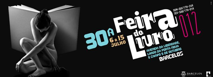 Feira do Livro de Barcelos no centro da cidade entre 6 e 15 de julho