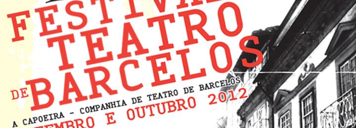 XXV Festival de Teatro de Barcelos com espetáculos em setembro e outubro