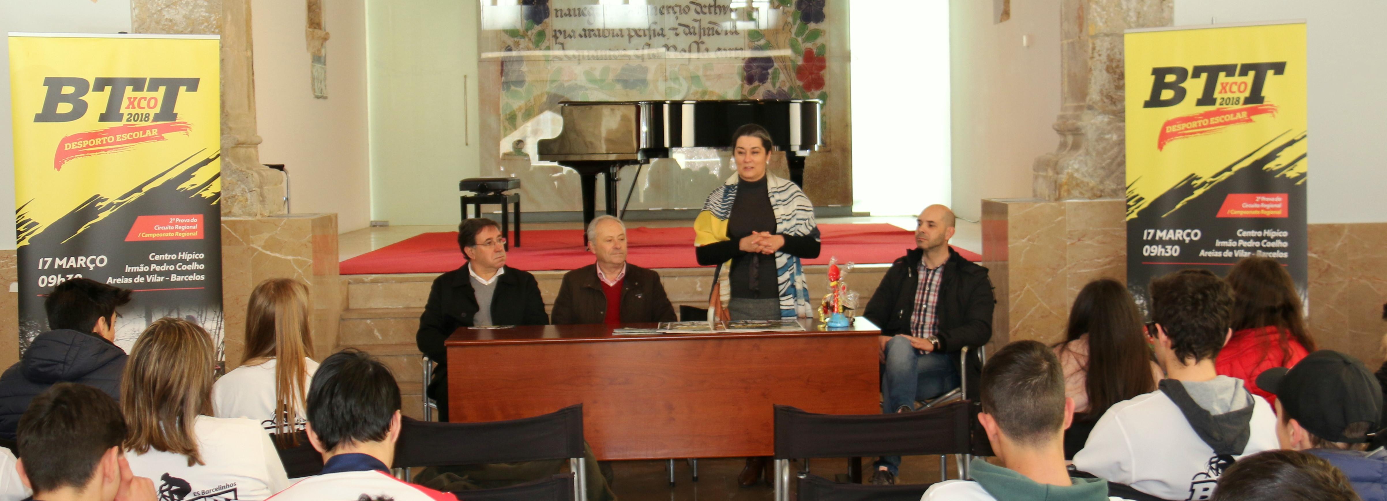 Município de Barcelos apresenta 2.ª prova do Circuito Regional de BTT do Desporto Escolar