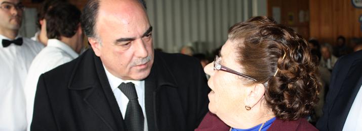Presidente do Município de Barcelos dá boas festas a idosos e crianças