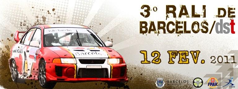 Segurança no 3.º Rali de Barcelos/DST