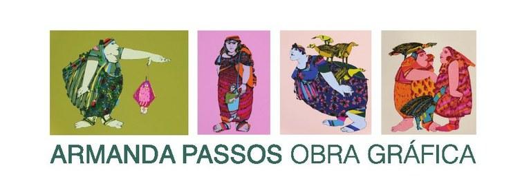 Exposição de pintura de Armanda Passos na Galeria Municipal de Arte